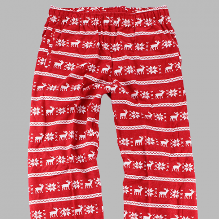 Youth and Adult Reindeer Flannel Pants