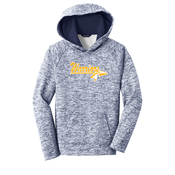 Warrior Youth Electric Heather Fleece Hooded Pullover