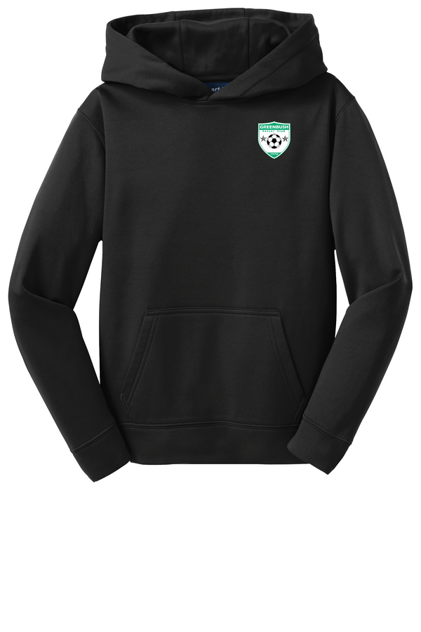 Greenbush Soccer Sport-Tek  Youth Sport-Wick  Fleece Hooded Pullover