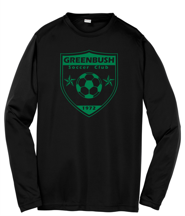 Greenbush  Soccer Sport-Tek® Youth Long Sleeve PosiCharge® Competitor™ Tee