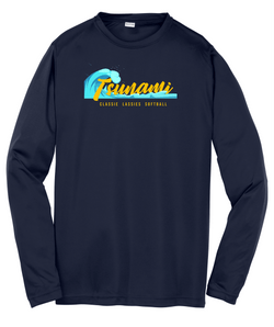 Tsunami Sport-Tek® Youth Long Sleeve PosiCharge® Competitor™ Tee