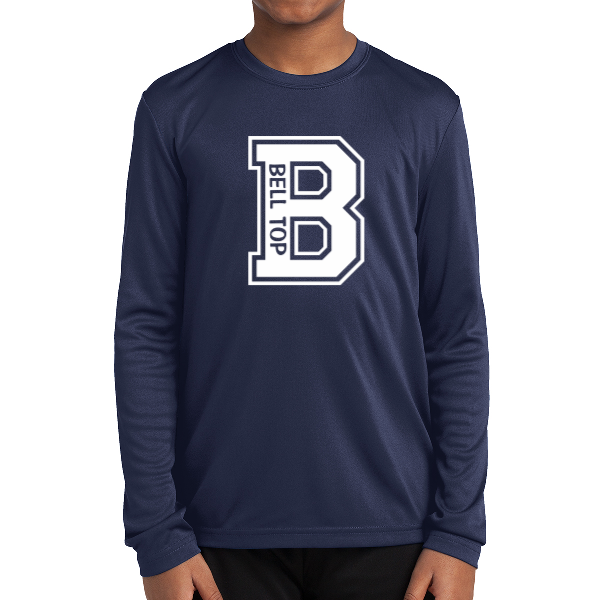 Bell Top Sport-Tek® Youth Long Sleeve PosiCharge® Competitor™ Tee