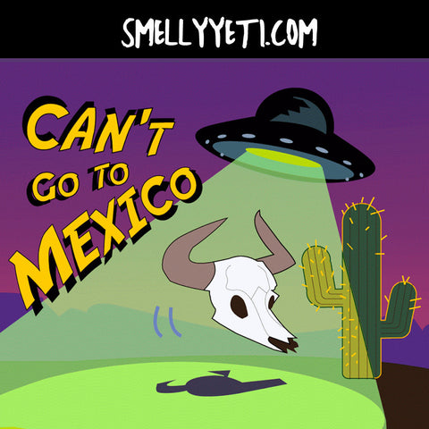 Can't go to Mexico
