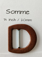 "Somme 3/4""/20mm Buckle"