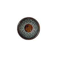 Brown (Tortoise Shell, Pewter) / Textured / Matte Button