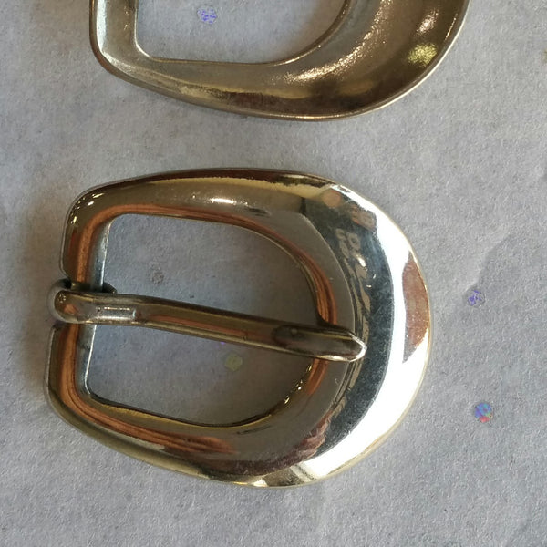 Small Silver Buckle / 12.5mm / .5""