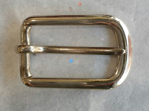 Silver Buckle / 20mm / .75""
