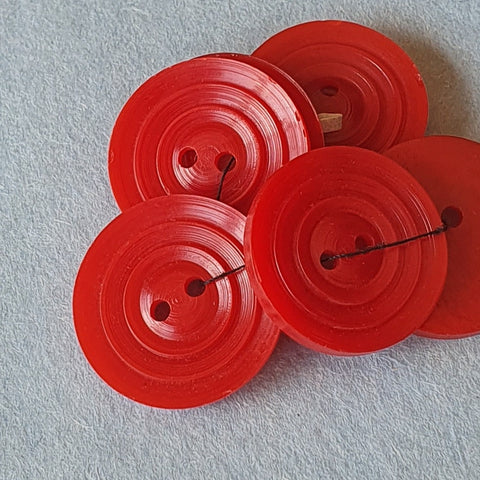 Vintage Red Plastic