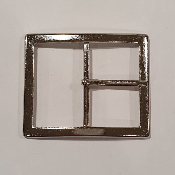 Rectangle Curved Buckle / Metal / 50mm