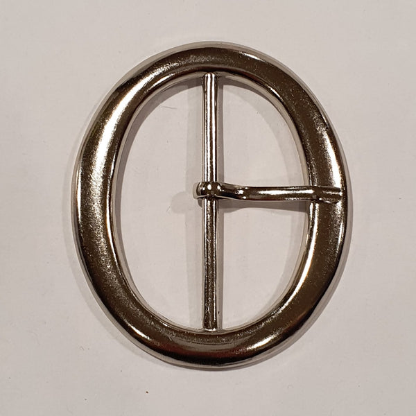Oval Buckle / Metal / 50mm