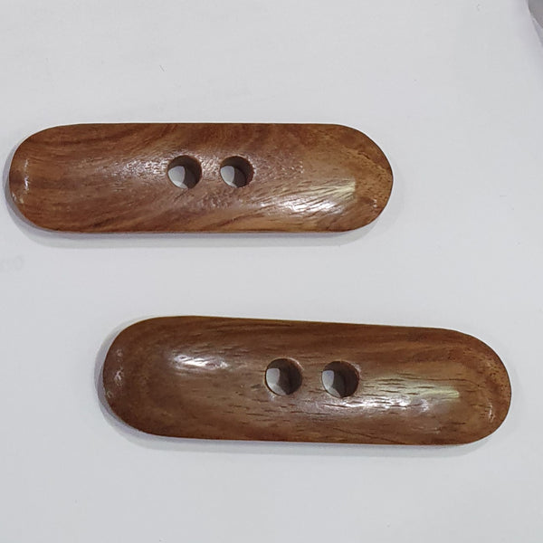 Large Wooden Button / Toggle
