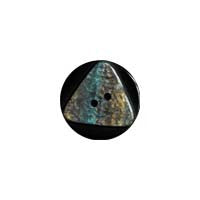 Blue / Opal-look Triangle / Matte Button