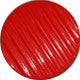 Red / Corrugated / Shiny Button