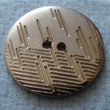 German Metallic (Silver) / Patterned / Shiny Button