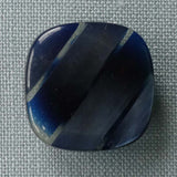 Blue / Striped / Shiny Button
