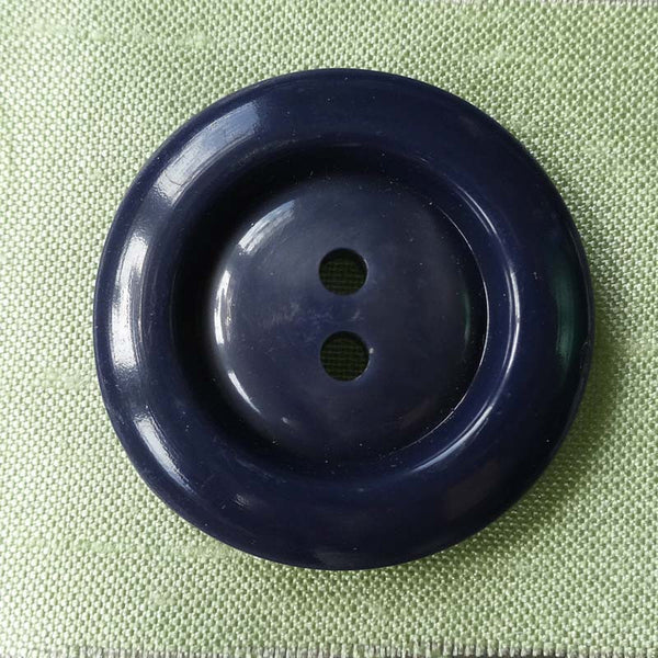 Button Blue (Mauve) / Rimmed / Matte