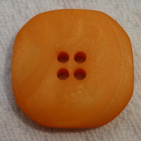 Button Orange / Half Moon / Matte