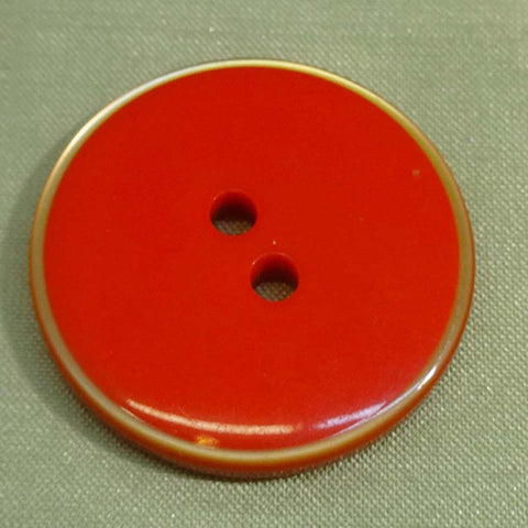 Button Orange (Gold) / Flat / Shiny
