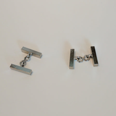 Cufflinks / Bar / Nickel