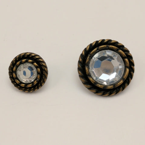 Bronze / Rope Edge / Diamante Centre