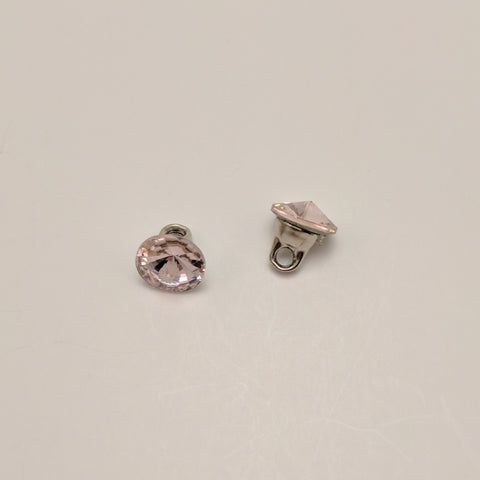 Pink / Single Diamante / Shank