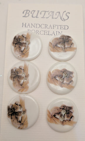 White / Koala / Porcelain (card of 6)