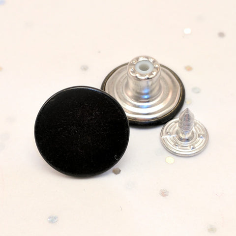 Black Oxy / Jean Buttons and Rivets / Tack Buttons