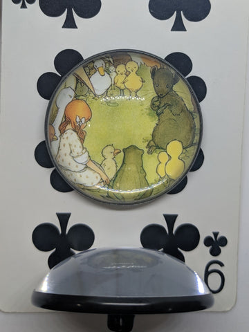Alice In Wonderland / Alice with Animals / Acrylic Dome