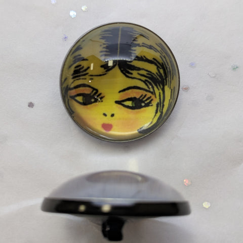 Flapper  Face / Acrylic Dome