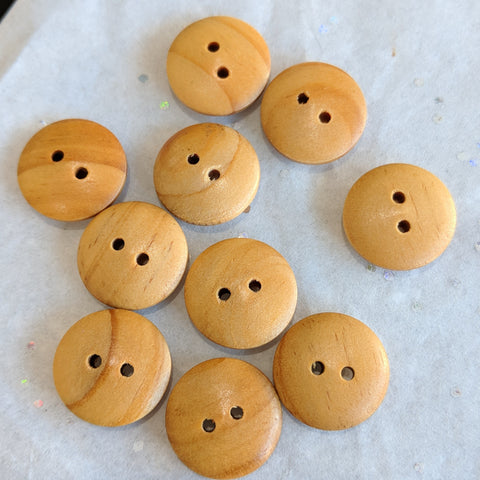 Wooden Buttons / 2 Hole