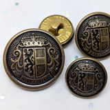 "Antique Brass with Shield ""Salzburg"" / Blazer / Shank"