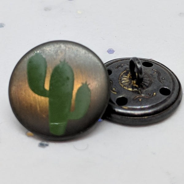 Cactus / Green and Brass / Shank