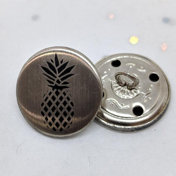 Pineapple / Black and Silver / Shank