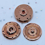 Snap fasteners / Decorative / Rose Gold