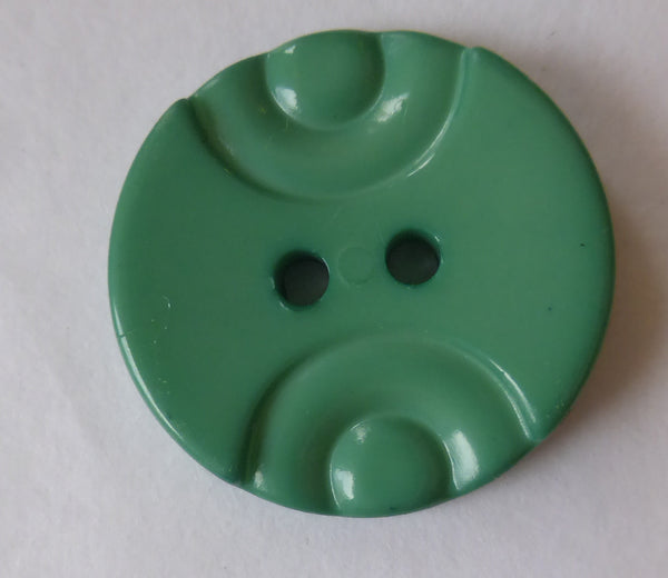 Green / Indented / Shiny Button