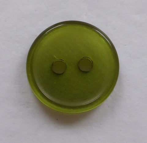 Olive Green / Pearly Clear / Shiny Buttons