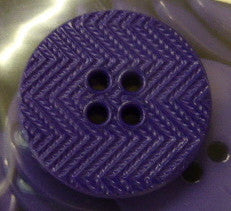 Button Purple / Zig Zag / Matte