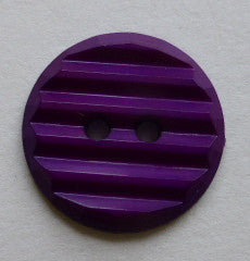 Purple  / Grooved  / Matte Button