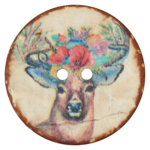 Coconut / Deer / Flowers