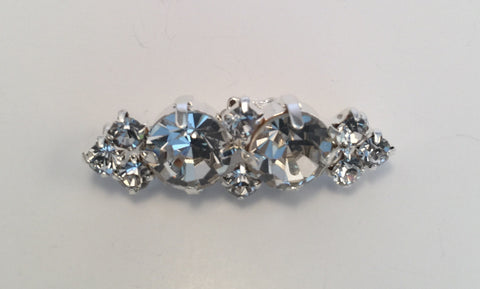 Diamante Buckle (1.3cmx3.8cm)