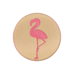 Flamingo / Pink and Gold / Shank