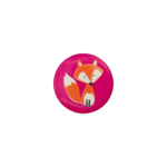 Fox / Orange and Pink / Shank