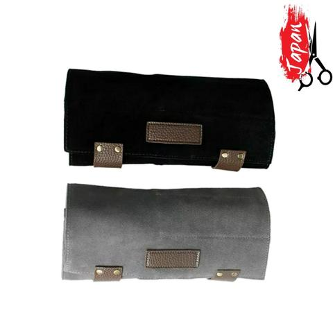 Luxury scissor wallet that holds up to six pairs of hairdressing scissors