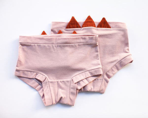 Blush Amber Zig Zag Underwear - Wolf Industries