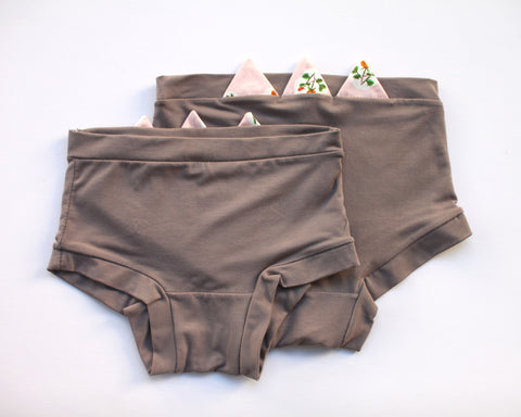 Grey Rose Zig Zag Underwear - Wolf Industries