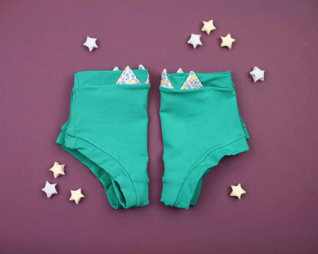 Green Zig Zag Underwear - Wolf Industries