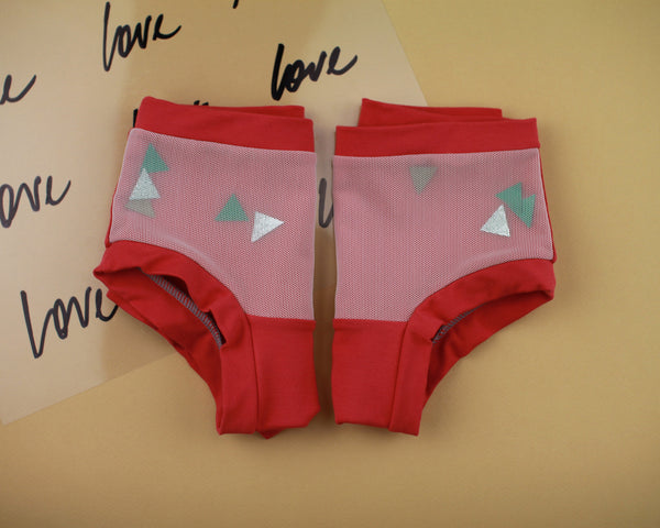 Red Confetti Underwear - Wolf Industries