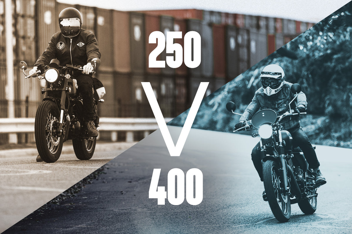 250 vs 400 - Which is right for you?