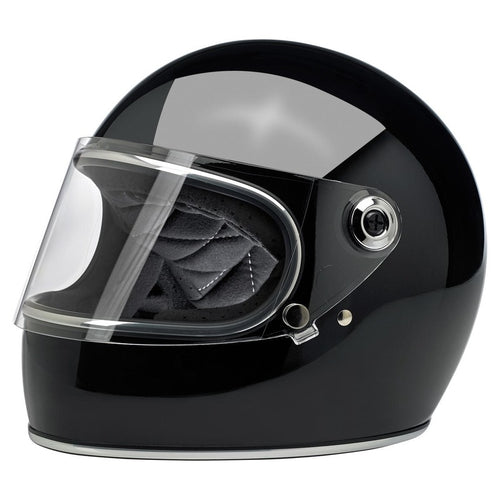 Biltwell Gringo Shield Helmet Gloss Black