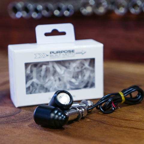 Beehive LED Indicators - Black